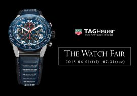 TANAKA The Watch Fair 2018 - TAGHEUER