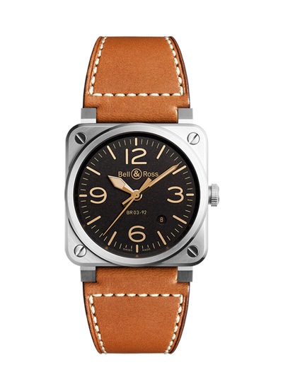 BELL&ROSS ベル&ロス ベルアンドロス BR 03-92 GOLDEN HERITAGE BR0392-ST-G-HE/SCA/2