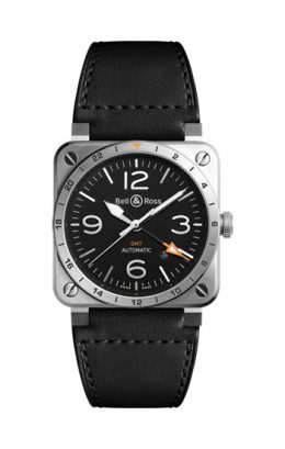 BELL&ROSS ベル&ロス BR 03-93 GMT BR0393-GMT-ST/SCA