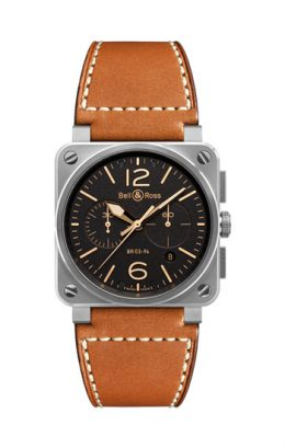 BELL&ROSS ベル&ロス ベルアンドロス BR 03-94 GOLDEN HERITAGE BR0394-ST-G-HE/SCA