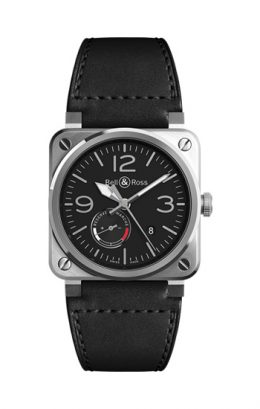 BELL&ROSS  ベルアンドロス ベル&ロス BR 03-97 RESERVE DE MARCHE BR0397-BL-SI/SCA/2