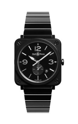 BELL&ROSS ベルアンドロス ベル&ロス BR S BLACK CERAMIC BRS-BL-CES/SCE