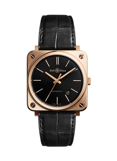 BELL&ROSS ベルアンドロス ベル&ロス BR S-92 ROSE GOLD BRS92-BL-PG/SCR