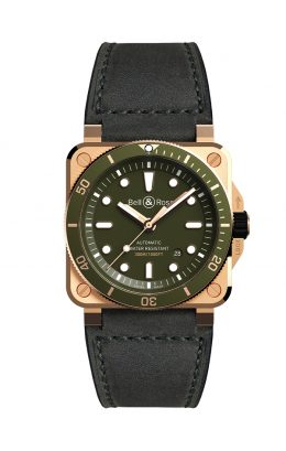 BELL&ROSS ベル&ロス ベルアンドロス BR 03-92 DIVER GREEN BRONZE BR0392-D-G-BR/SCA