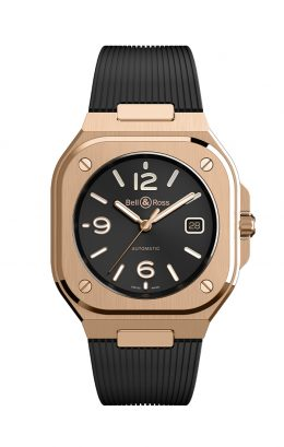 BELL&ROSS ベルアンドロス ベル&ロス BR05 GOLD BR05A-BL-PG/SRB