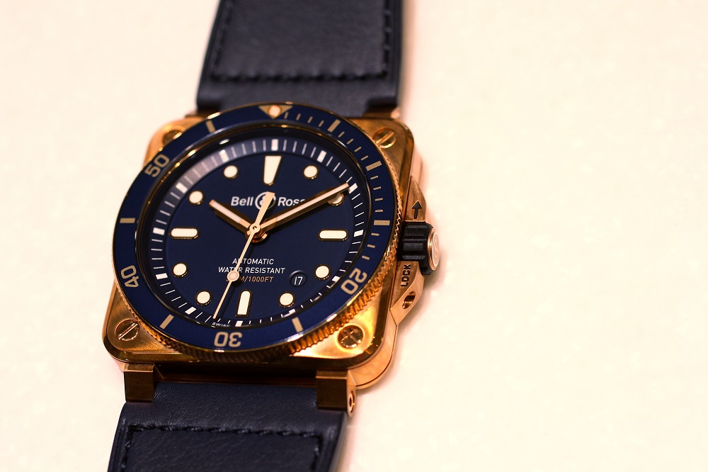 BR0392-D-LU-BR/SCA bell&ross BR03ブロンズダイバー 限定999本