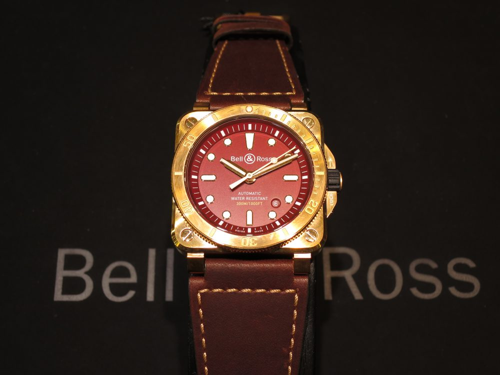 Bell&Ross  ベルアンドロス BR0392-D-RD-BR/SCA